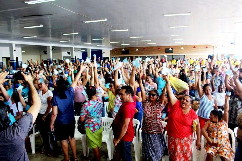 Assembleia geral dos servidores realizada dia 23 de janeiro de 2019